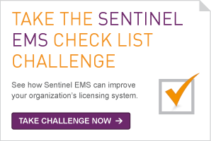Take the sentinel EMS check list challenge