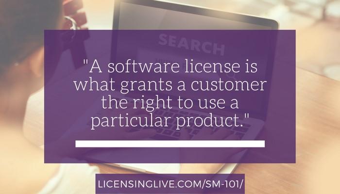 Licenses vs. Keys